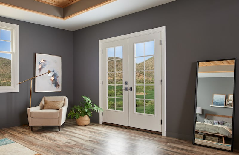 french door in a home
