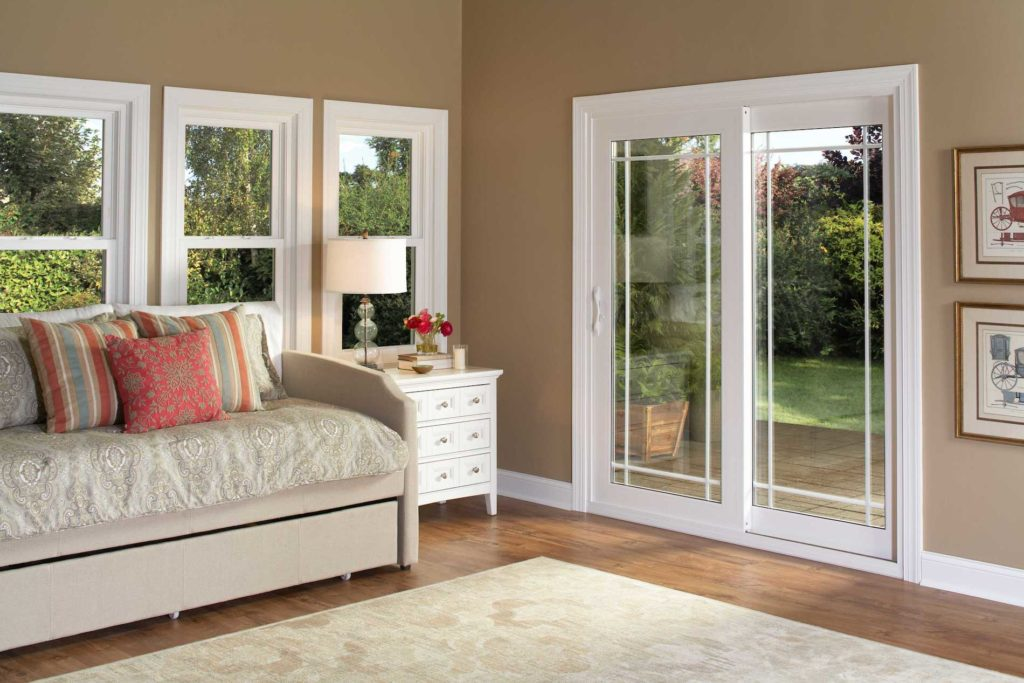 Vinyl French Rail Door