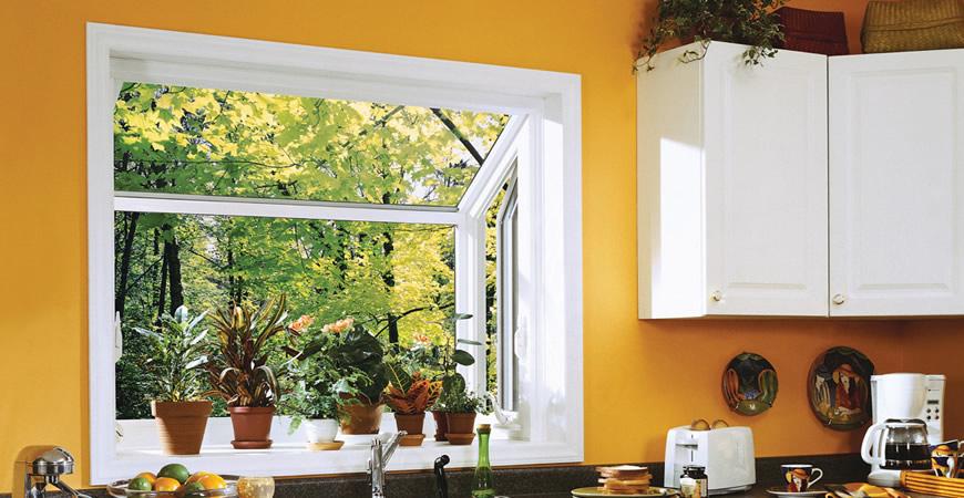 vinyl garden window