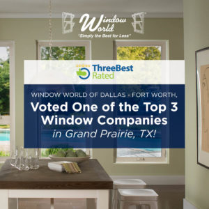 voted one of the top 3 window companies