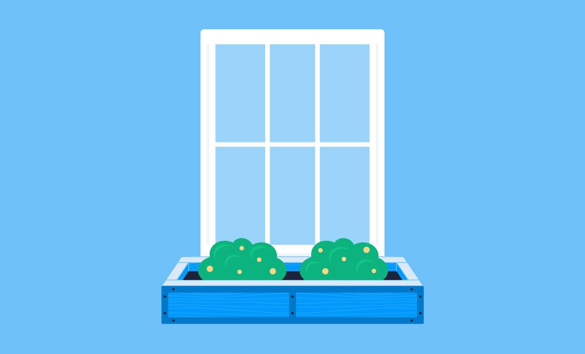 complete window box