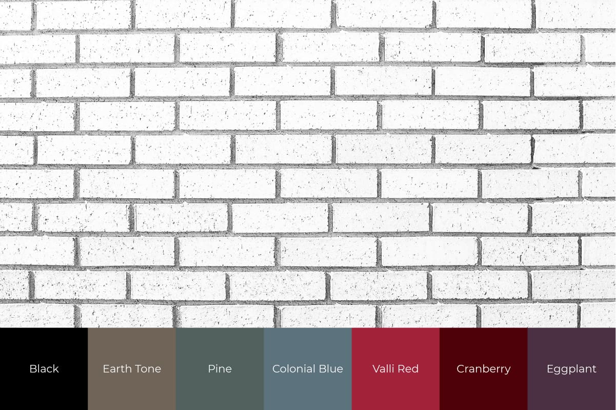 front door colors for white brick homes