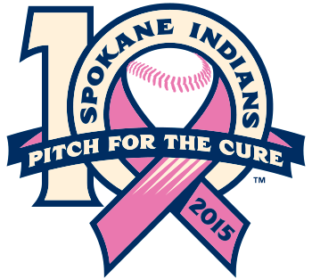 spokane indians pitch for the cure