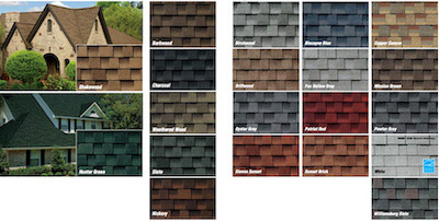 Timberline High Definition colors