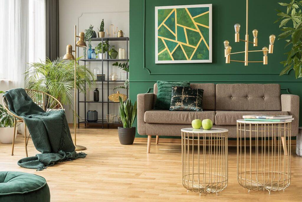 Aquarius living room decor