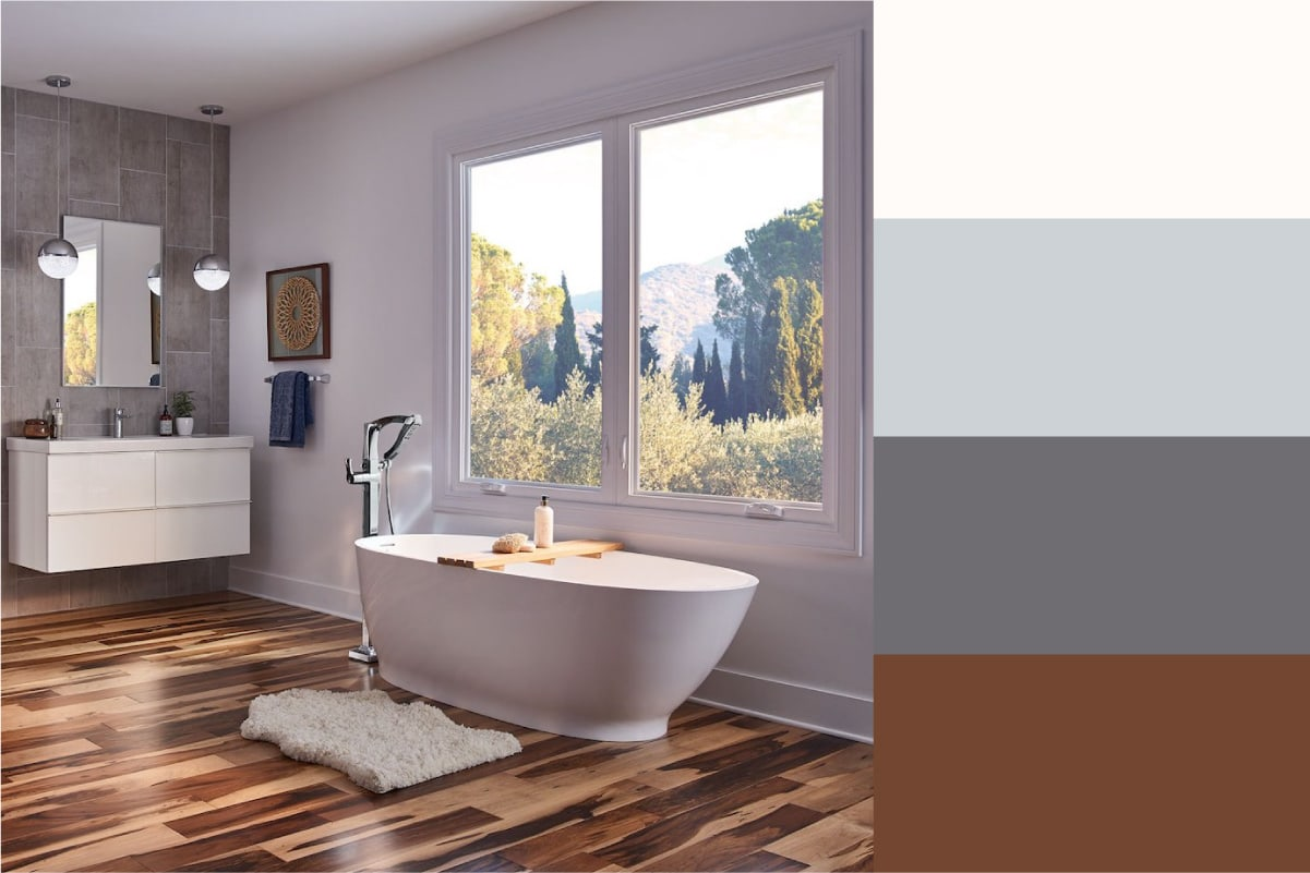 bathroom color palette idea