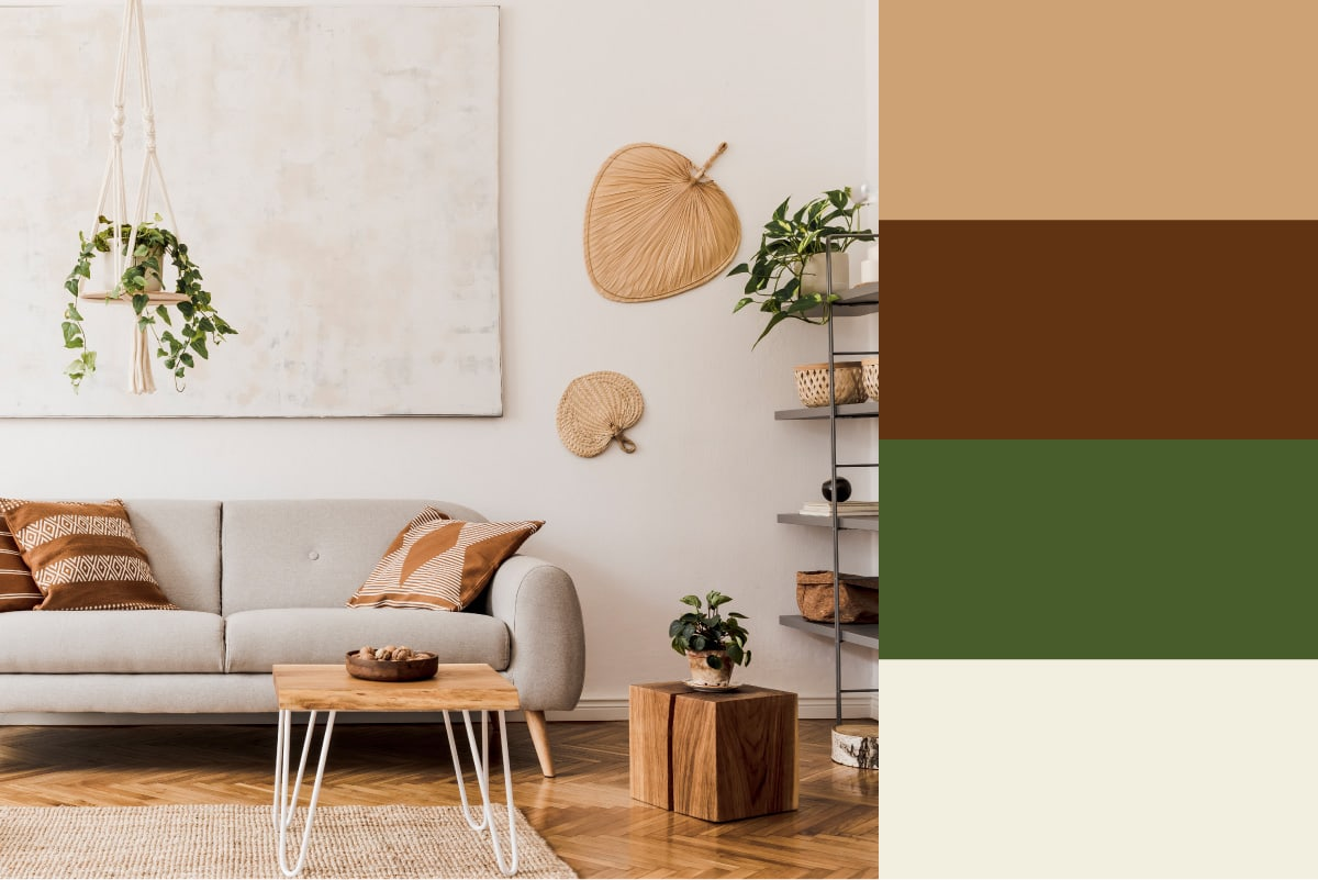 earth tone color palette