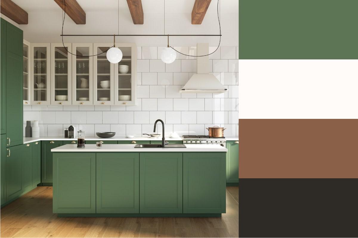kitchen color scheme