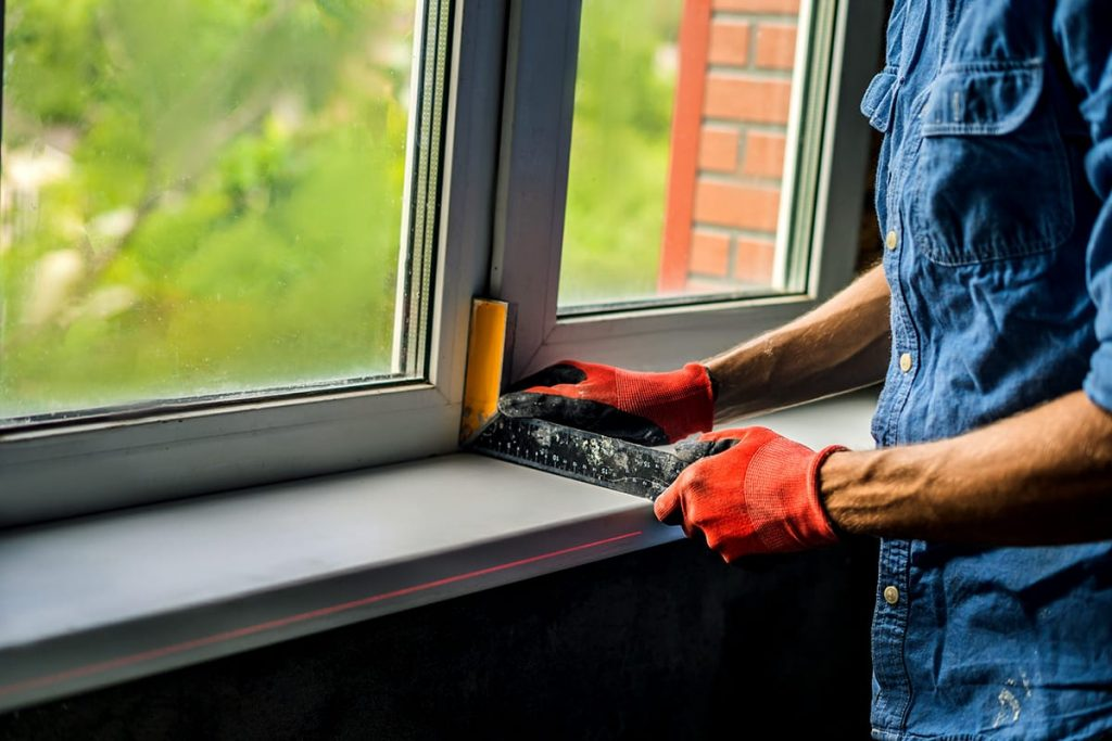 person leveling window